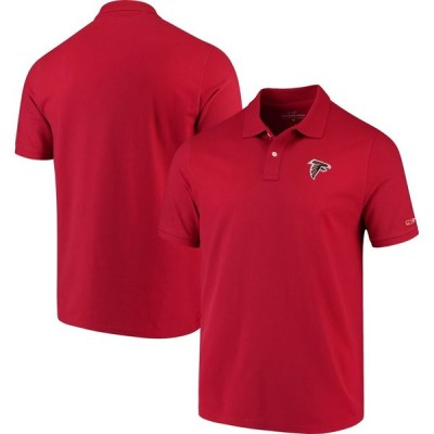 アトランタ・ファルコンズ Vineyard Vines Stretch Pique ポロシャツ - Red