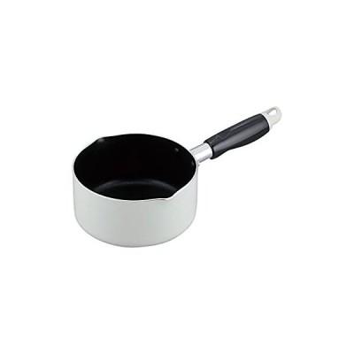 和平フレイズ 片手鍋 ミニミルクパン リプレ 14cm ガス火専用 シルクウェア ふっ素樹脂加工 LR-8218