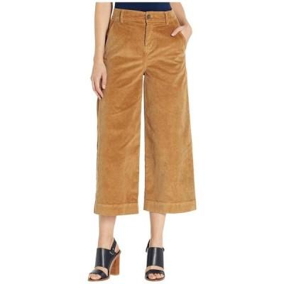 ベラダール レディース カジュアルパンツ ボトムス Stretch Cord Wide Leg Crop Trousers