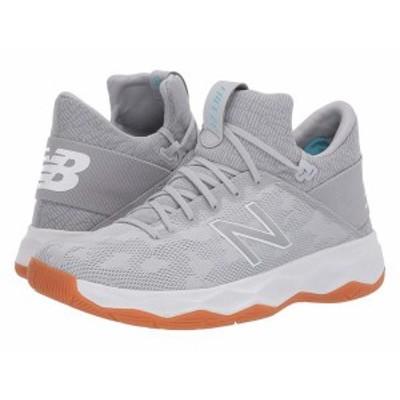ニューバランス メンズ スニーカー シューズ FREEZBv2 Lacrosse Grey/White