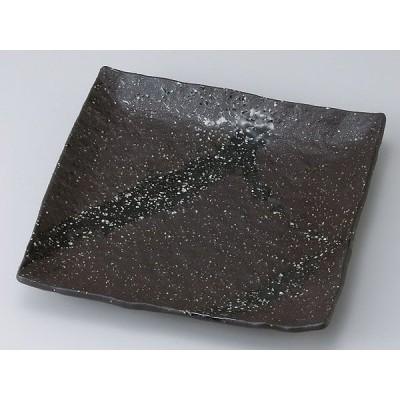 和食器 和皿 小皿 大皿 中皿/ 彗星石目7.0正角皿 /おしゃれ 陶器 業務用 家庭用 Japanese Plate