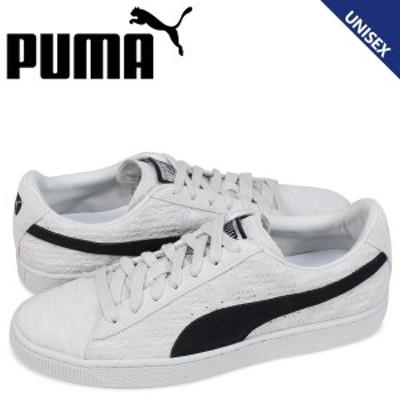 PUMA プーマ スウェード クラシック スニーカー メンズ レディース パニーニ コラボ PANINI SUEDE CLASSIC ホワイト 366323-01