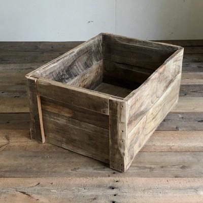 アンティークボックス 幅42-2  木製ボックス リサイクルウッド