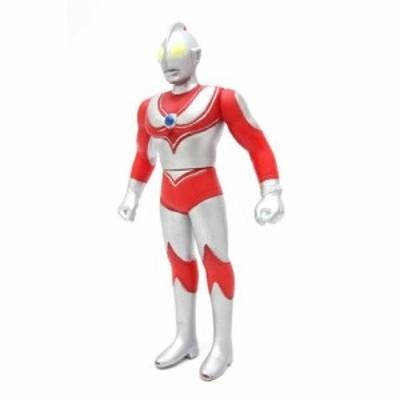 【中古】ソフビ 人形 ウルトラマンジャック BANDAI1990 高さ約13cm /Z