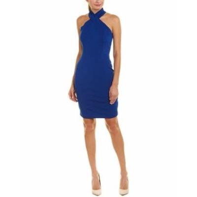 ファッション ドレス Reiss Zaira Sheath Dress 10 Blue