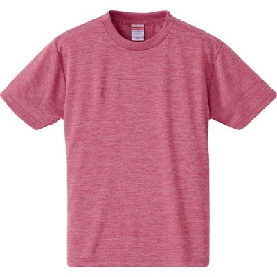 UnitedAthle(ユナイテッドアスレ) 4 . 1オンス ドライアスレチックTシャツ キッズ ヘザーピンク
