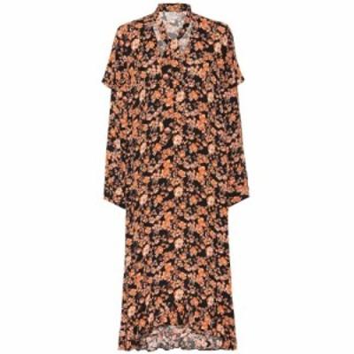 バウム ウンド ヘルガーデン Baum und Pferdgarten レディース ワンピース ミドル丈 ワンピース・ドレス Ani floral midi dress Peach Bl