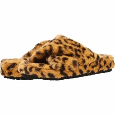 スティーブ マデン Steve Madden レディース スリッパ シューズ・靴 Fuzed Slipper Leopard