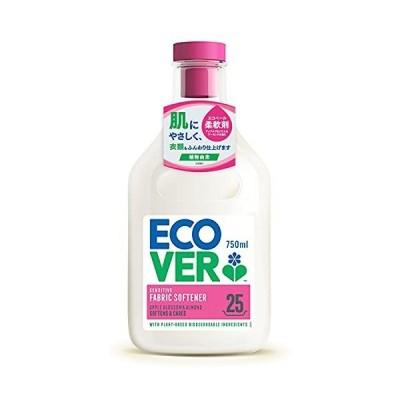 柔軟剤 ecover エコベール ファブリックソフナー 本体 アップルブロッサム&アーモンドの香り 750ml 洗濯 赤ちゃん laundry 日用品