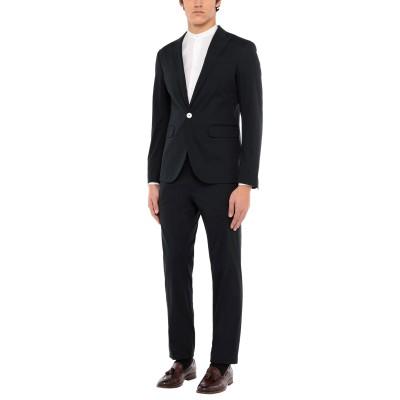 ディースクエアード DSQUARED2 スーツ ダークブルー 54 コットン 97% / ポリウレタン 3% スーツ