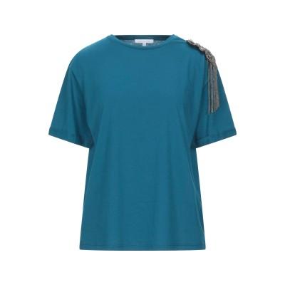 パトリツィア ペペ PATRIZIA PEPE T シャツ ディープジェード 3 コットン 100% T シャツ