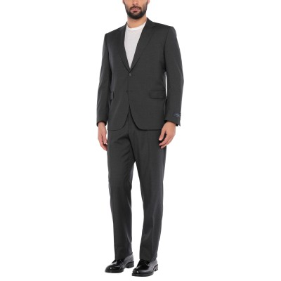TOMBOLINI スーツ 鉛色 56 バージンウール 100% スーツ
