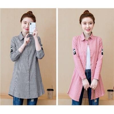 大きいサイズL-5XL ファッション/人気ワイシャツ ブラック/ピンク2色展開