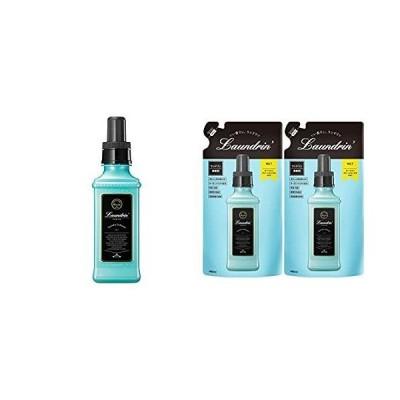 セット買いランドリン 柔軟剤 No.7 600ml+ランドリン (Laundrin) 柔軟剤 詰替え No.7 2個