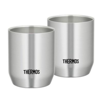THERMOS 真空断熱カップ ステンレス(S) 280ml 2個セット JDH-280P