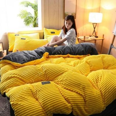 布団カバー 単品 寝具カバー 柔らかい 掛け布団カバーファスナー仕様 ベッド用 エレガント 洋式 和式兼用 フランネル 洗える 発熱 保温 静電気防止加工