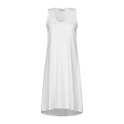 CROSSLEY ミニワンピース&ドレス ライトグレー XS コットン 100% ミニワンピース&ドレス