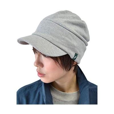 nakota ナコタ スウェットワークキャスケット グレーLサイズ(頭周り約57~60cm) 帽子 キャップ 大きいサイズ メンズ レディー