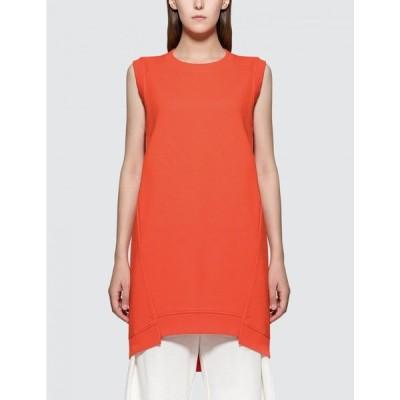 メゾン マルジェラ MM6 Maison Margiela レディース ワンピース タンクドレス ワンピース・ドレス Tank Dress Orange
