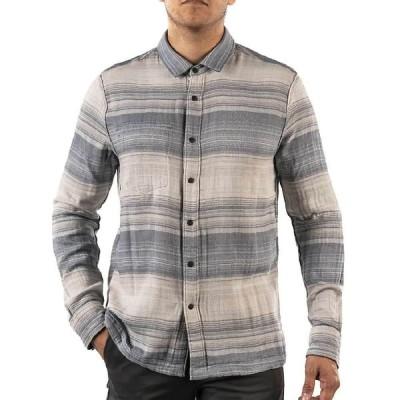 ジェレミア Jeremiah メンズ シャツ トップス Stag Reversible Plaid Stripe Shirt Teal