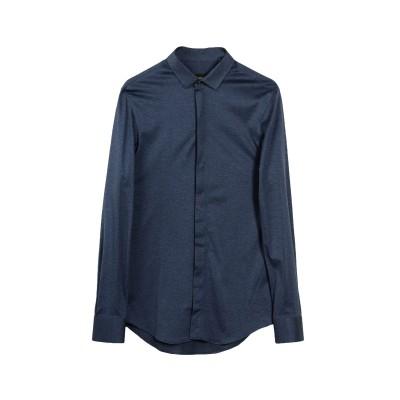 エンポリオ アルマーニ EMPORIO ARMANI シャツ ブルー 36 コットン 100% シャツ