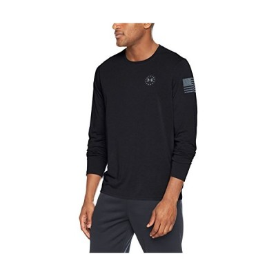 平行輸入品 Under Armour Men's Freedom Siro Long Sleeve Tee,Black (001)/Graphite, XXX-Large