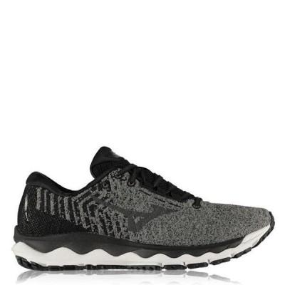 ミズノ シューズ メンズ ランニング Wave Sky Waveknit 3 Running Shoes Mens