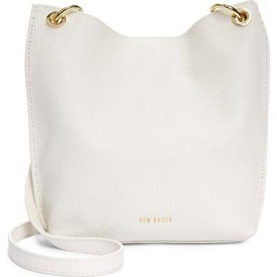 テッドベーカー TED BAKER LONDON レディース ショルダーバッグ バッグ Mini Holiiee Leather Crossbody Bag White