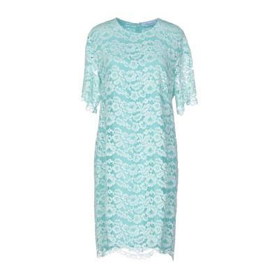 ブルマリン BLUMARINE ミニワンピース&ドレス ライトグリーン 48 ナイロン 60% / コットン 40% ミニワンピース&ドレス