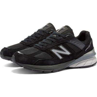 ニューバランス New Balance レディース スニーカー シューズ・靴 w990bk5 - made in usa w Black/Silver