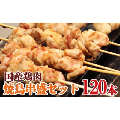ナント!串盛120本セット 国産鶏肉