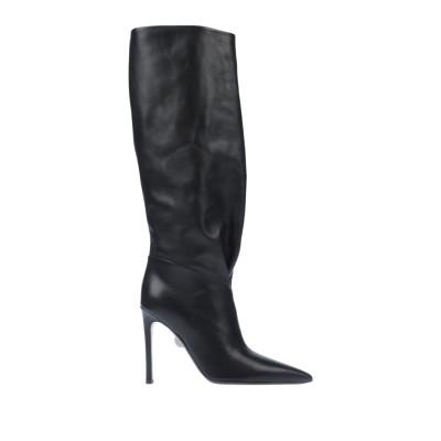 SAMUELE FAILLI ブーツ ブラック 36 牛革(カーフ) ブーツ