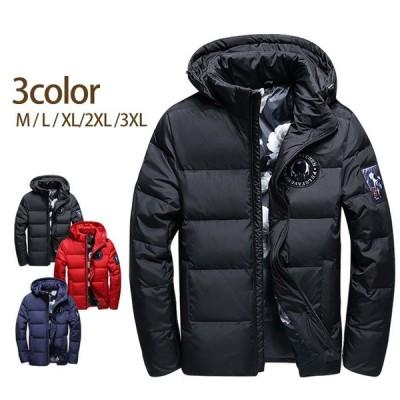 送料無料 中綿コート アウター コート ダウンジャケットメンズ あったか メンズファッション フェザー 厚手 防寒着 ブルゾン ジャケット メンズmoat03