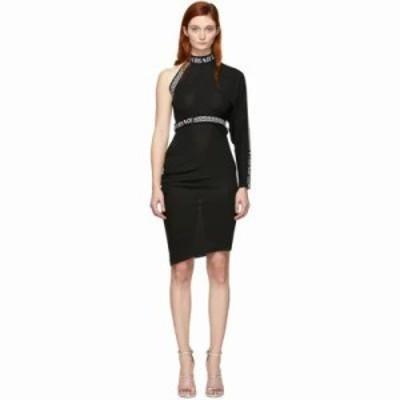 ヴェルサーチ ワンピース Black Single Sleeve Dress