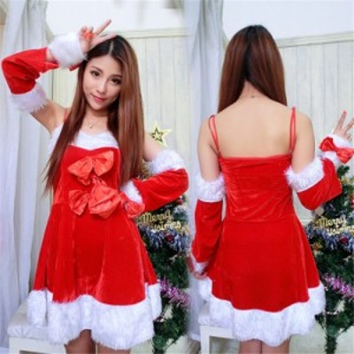 サンタ コスプレ レディース サンタコス コス サンタクロース コスチューム クリスマス 衣装 大人用 安い セクシー スカート