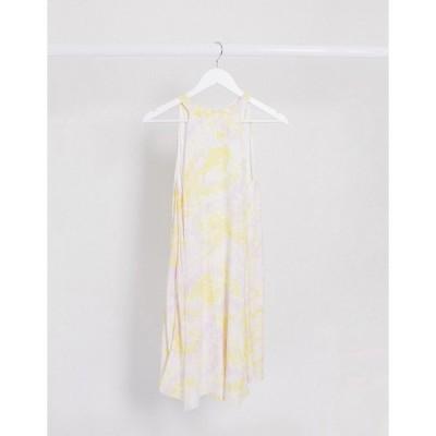 ヴィラ レディース ワンピース トップス Vila swing dress in abstract print Multi
