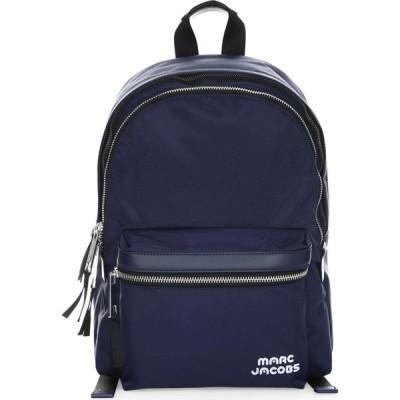 マーク ジェイコブス Marc Jacobs レディース バックパック・リュック バッグ Large Logo Backpack ミッドナイトブルー