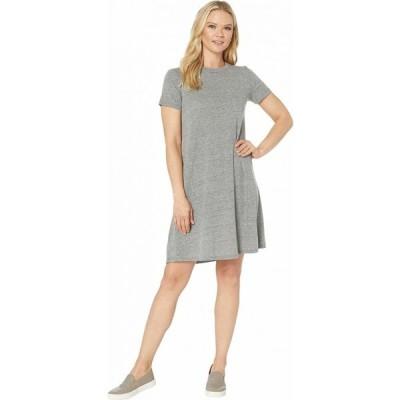 オルタナティヴ Alternative レディース ワンピース Tシャツワンピース ワンピース・ドレス Eco-Jersey Flare T-Shirt Dress Eco Grey
