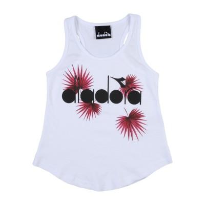 ディアドラ DIADORA T シャツ ホワイト 8 コットン 100% T シャツ