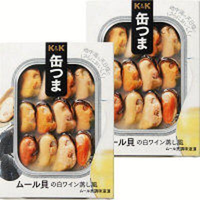 国分グループ本社国分グループ本社 KK 缶つまR ムール貝の白ワイン蒸し風 1セット(2個)