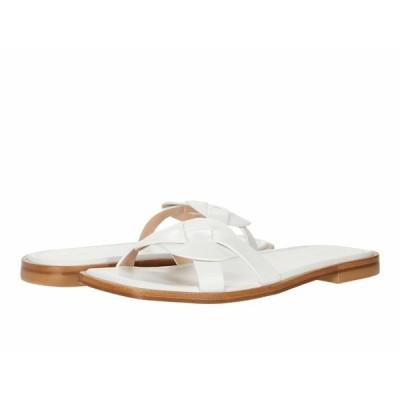スチュアート ワイツマン サンダル シューズ レディース Sierra Flat Sandal White