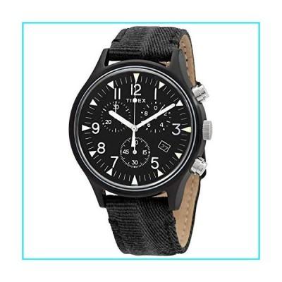 Timex MK1 Chronograph Quartz Black Dial Men's Watch TW2R68700【並行輸入品】