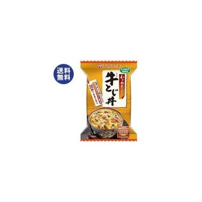 送料無料 アマノフーズ フリーズドライ 小さめどんぶり 牛とじ丼 4食×12箱入