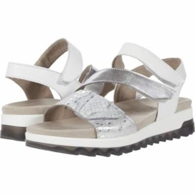 ガボール Gabor レディース サンダル・ミュール シューズ・靴 46.742 Silber/Weiss