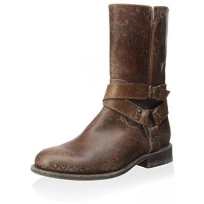 フライ レディース ブーツ FRYE Women's Jayden Harness Zip Ankle Boot