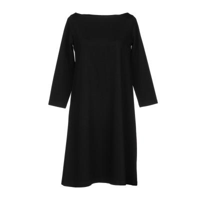 BINI Como ミニワンピース&ドレス ブラック 40 レーヨン 97% / ポリウレタン 3% / シルク ミニワンピース&ドレス