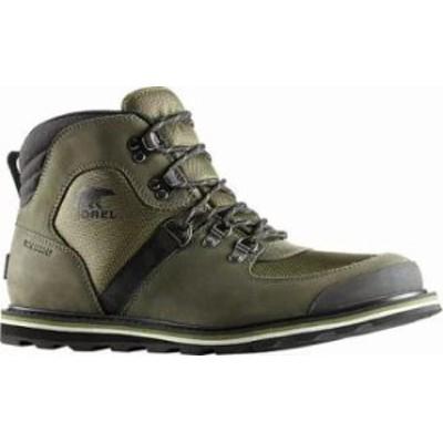 Sorel メンズシューズ Sorel Madson Sport Hiker Waterproof Boot Hiker Green/Alpine T
