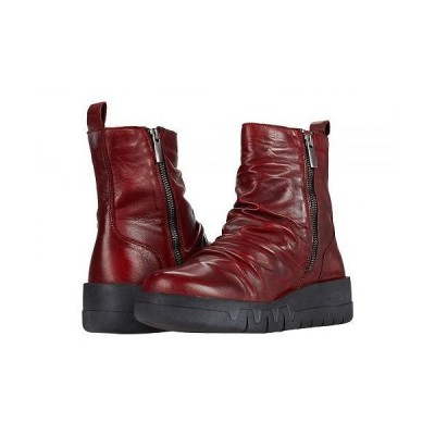 Miz Mooz ミズムーズ レディース 女性用 シューズ 靴 ブーツ アンクル ショートブーツ Luke - Red