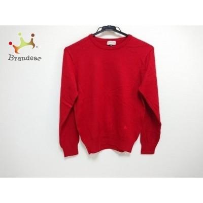 バーバリーズ Burberry's 長袖セーター サイズM レディース レッド   スペシャル特価 20200319