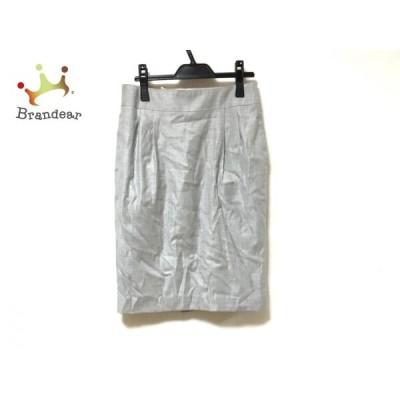 トゥモローランド TOMORROWLAND スカート サイズ36 S レディース 美品 グレー     スペシャル特価 20200510